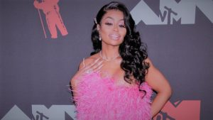 Blac Chyna Copied Kylie Jenner's 22nd Birthday Look With Pink Minidress At VMA'S
