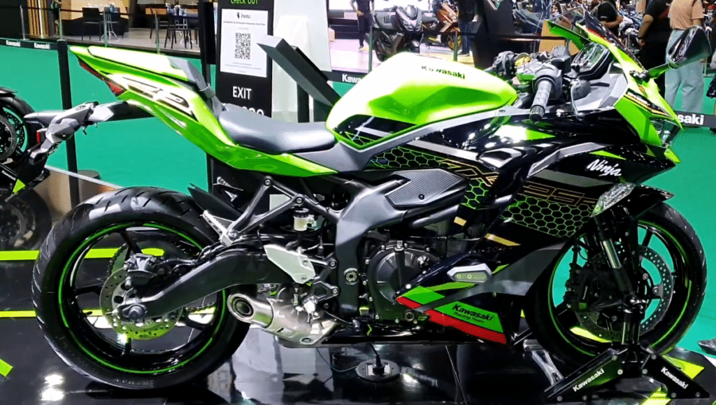 Kawasaki Ninja ZX-25R : The most powerful in its segment